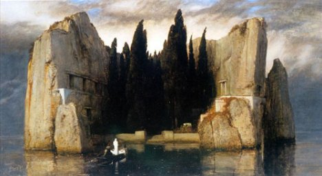 "Arnold Böcklin, ""The Isle of the Dead"", 1883"