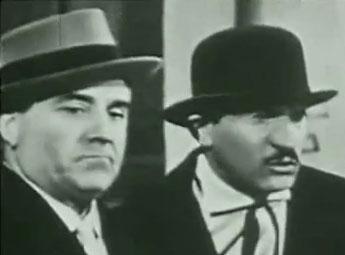 Walter Chiari e Carlo Campanini: «Vieni avanti, cretino!»