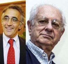 Angelo Riccaboni e Luigi Berlinguer
