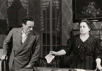 Eduardo e Titina De Filippo in Filumena Marturano