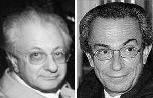 Luigi Berlinguer e Piero Tosi