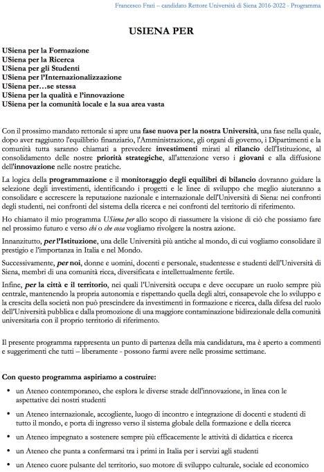 Programma-Frati