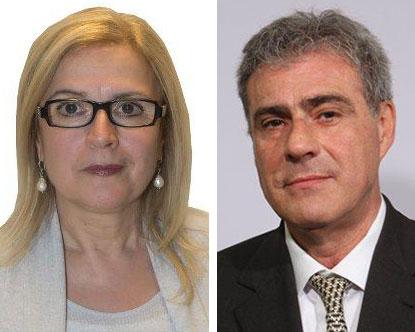 Laura Sabatini e Alessandro Trapassi