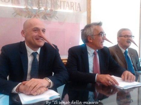 Francesco Frati - Angelo Riccaboni - Roberto Morrocchi (membro del CdA)